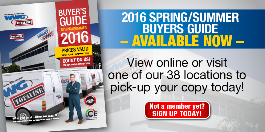 2016 Spring/Summer Buyers Guide Available Now