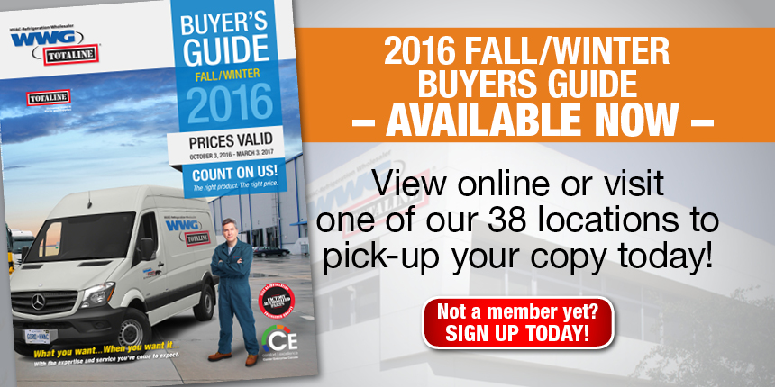 2016 Fall/Winter Buyers Guide Available Now